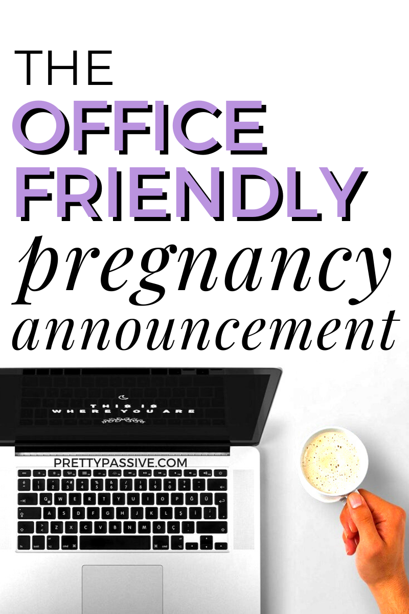 when should i tell my boss i'm pregnant? and where do i start?! A professional pregnancy announcement isn't something we post on instagram, so here's the guide to getting the secret out!