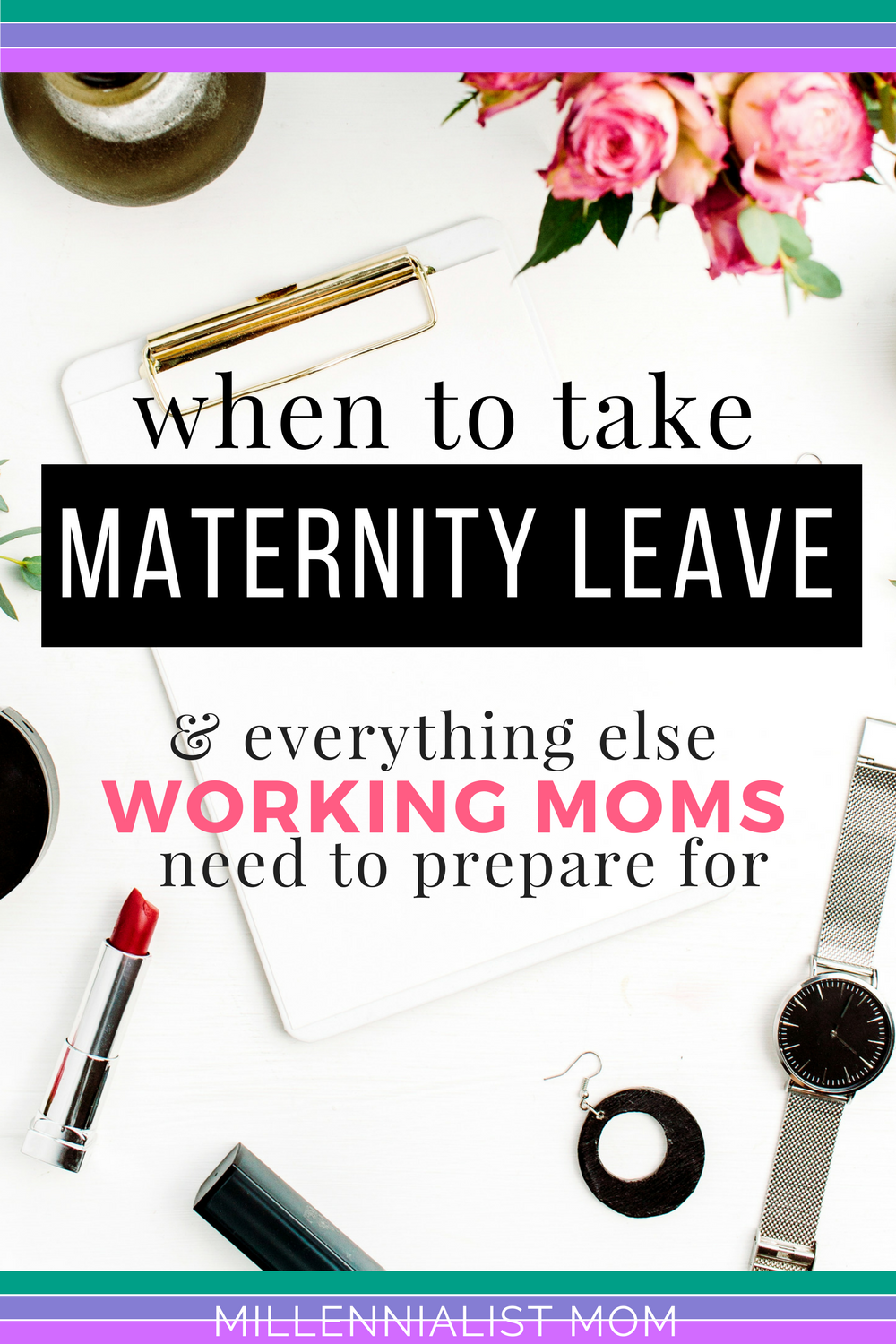 Getting ready to have a baby comes with a lot of preparation. This list will give #workingmoms everything they need to prepare for at work. The professional pregnancy has HR, corporate policies, FMLA, and dozens of crap to deal with. And since you're #makingmoney you need to take that into consideration. Learn when to take maternity leave and everything else working moms need to prepare for