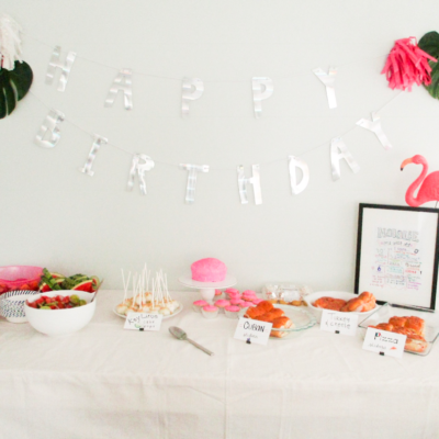 A Beautiful Birthday Party on a Budget