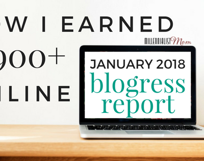 January 2018 Blogress Report