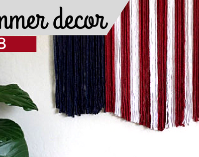 2018 Patriotic Decor for Summer Style