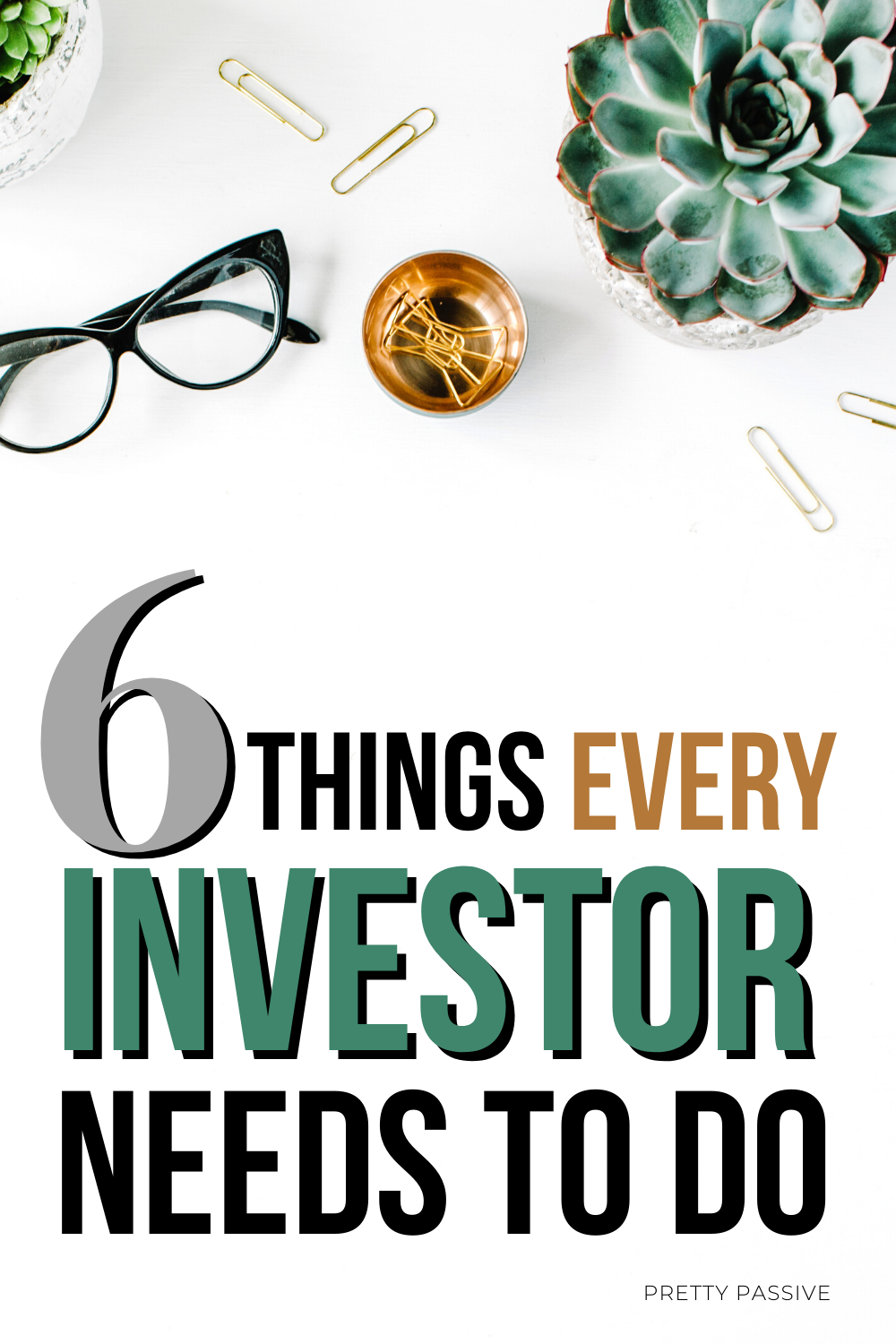 must do items for the healthy investment portfolio. 6 things every new and experienced investor needs to do