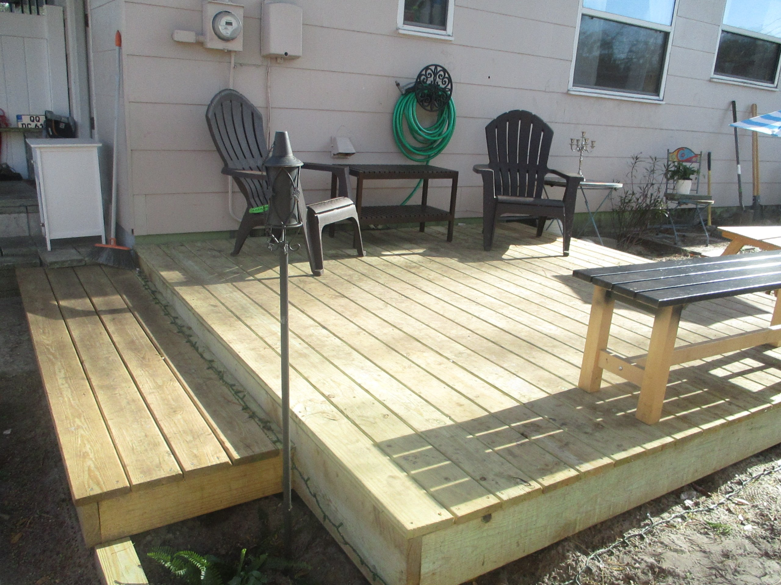 Diy Floating Deck For Less Than 500