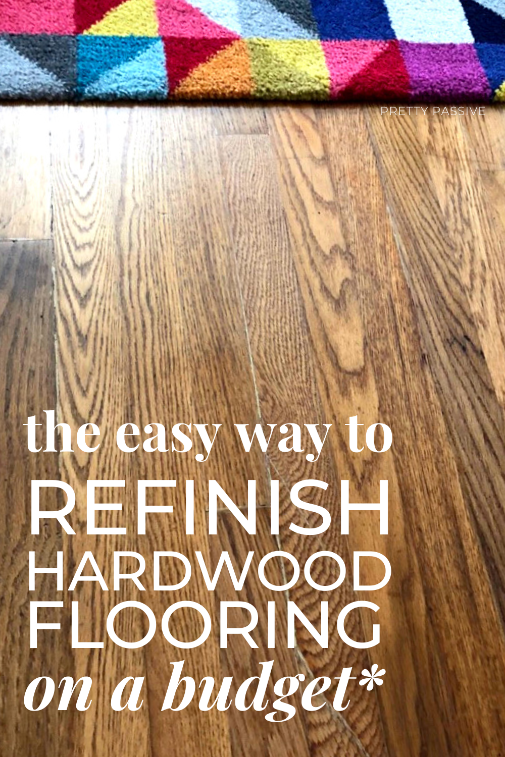 frugal home projects for working families with a fixer upper -the easy way to refinish hardwood flooring on a budget