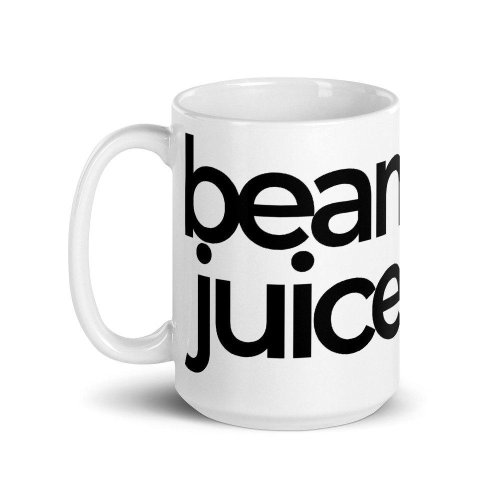 bean juice mug - pretty passive - punny