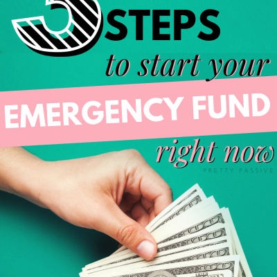 How to start an emergency fund… like, right now