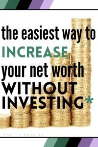 How to increase net worth without investing - saving money before you have money. improve your financial future and build a nest egg from ground zero with tons of debt!